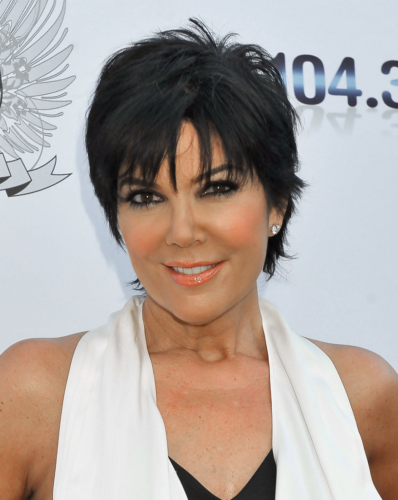 Kris Jenner Hairstyle Back View | Short Hairstyle 2013