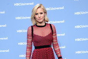 Kristen Bell Embroidered Dress