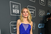 Kristen Bell Form-Fitting Dress