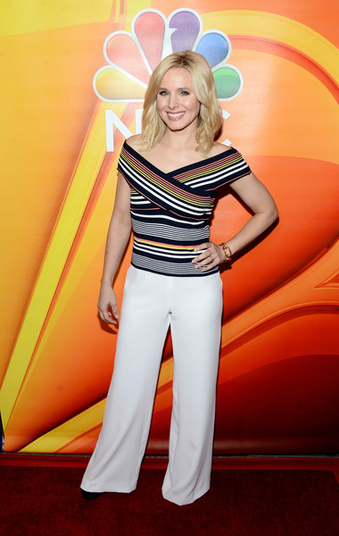 Kristen Bell Off-the-Shoulder Top