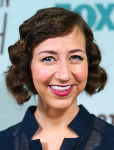 Kristen Schaal Curled Out Bob [last man on earth,hair,face,hairstyle,eyebrow,facial expression,lip,chin,smile,forehead,skin,kristen schaal,screening,consideration,los angeles,california,landmark theatre,fox,panel,fyc screening and panel - arrivals]