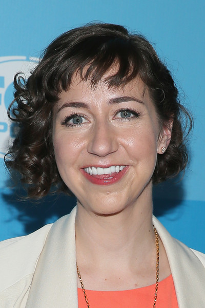 Kristen Schaal Curled Out Bob [hair,face,hairstyle,eyebrow,chin,head,lip,beauty,forehead,smile,kristen schaal,programming presentation,programming presentation,central park,wollman rink,new york city,fox]