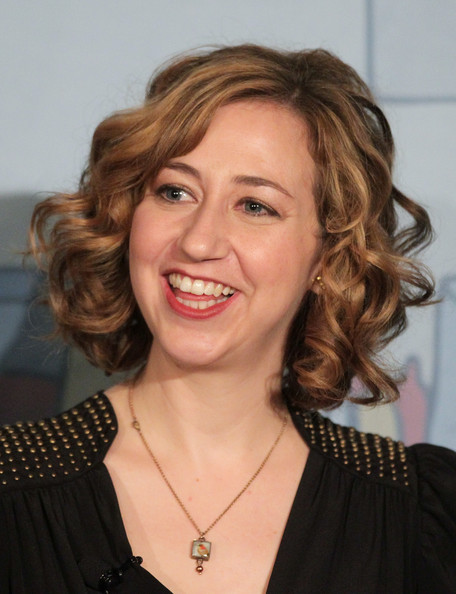 Kristen Schaal Curled Out Bob [hair,face,hairstyle,eyebrow,blond,chin,smile,lip,layered hair,forehead,kristen schaal,bob burgers,portion,langham hotel,pasadena,california,winter tca,fox broadcasting company,panel,press tour]