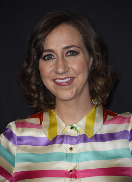 Kristen Schaal Curled Out Bob [bobs burgers,photo,hair,smile,arrivals,kristen schaal,red carpet,los angeles,theatre,paley center for media,paleyfest,paleyfest los angeles]