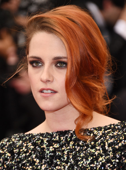Kristen Stewart Loose Braid