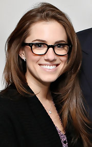 As if we didn't envy Allison Williams' hair already, this casual layered 'do looked totally fabulous on the young star.