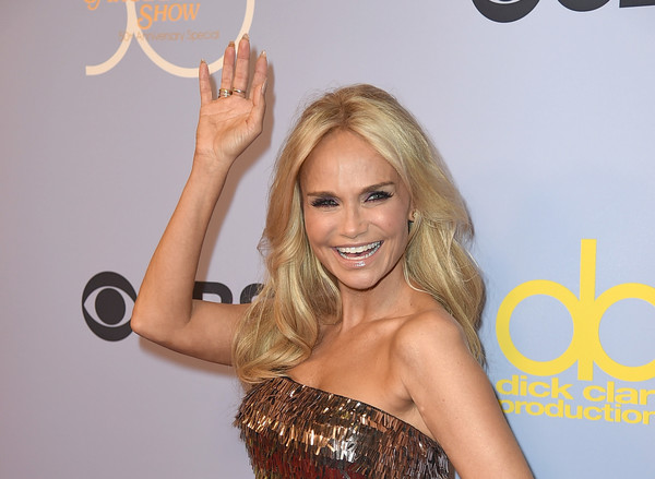 Kristin Chenoweth Feathered Flip