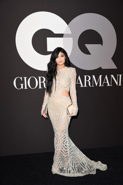 Kylie Jenner Box Clutch [fashion model,flooring,fashion,shoulder,gown,carpet,dress,red carpet,haute couture,fashion design,giorgio armani,kylie jenner,after party,grammys,hollywood,california,gq,hollywood athletic club,party arrivals,kylie jenner,57th annual grammy awards,armani,grammy awards,fashion designer,hollywood,musician,dress,actor]