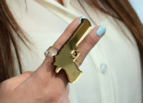 Kylie Jenner Statement Ring