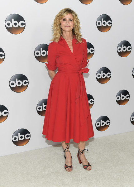 Kyra Sedgwick Wrap Dress