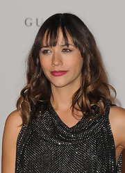 Rashida Jones wore a lovely, vibrant shade of berry lipstick at the 2011 LACMA Art and Film Gala.