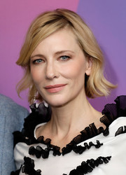 Cate Blanchett looked sweet with her short, flippy 'do while attending LFF Connects at the BFI London Film Festival.