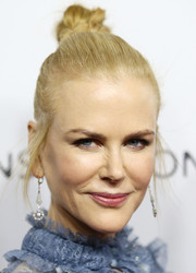 Nicole Kidman pulled her tresses back into a tight knot for the Australian premiere of 'Lion.'