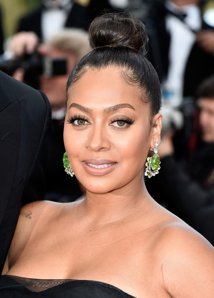 La La Anthony Classic Bun La La Anthony Looks Stylebistro