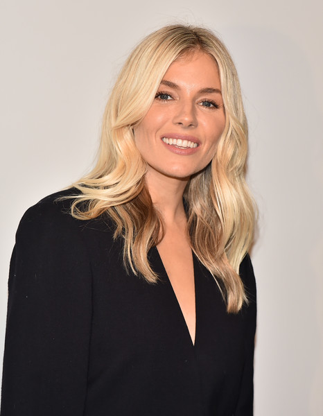 More Pics of Sienna Miller Khakis (1 of 8) - Pants & Shorts Lookbook - StyleBistro [sorrenti campaign,hair,blond,face,hairstyle,beauty,long hair,smile,layered hair,photography,neck,studio 525,new york city,la mer,sienna miller]