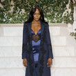 Naomi Campbell at La Perla