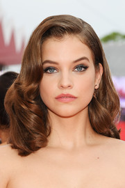 Barbara Palvin gave off vintage-glam vibes with her shoulder-length curls at the 2019 Venice Film Festival opening ceremony.