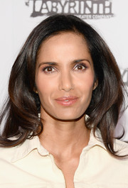 Padma Lakshmi looked lovely with her face-framing waves at the Celebrity Charades Gala.