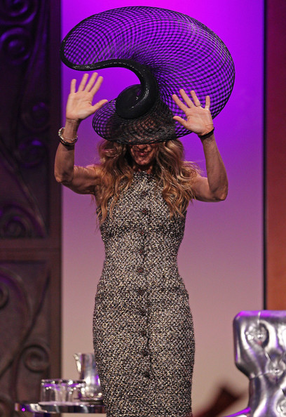 More Pics of Sarah Jessica Parker Decorative Hat (1 of 30) - Decorative Hat Lookbook - StyleBistro