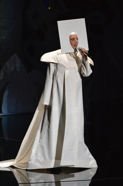 Lady Gaga Evening Dress