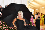 Lady Gaga Strapless Dress
