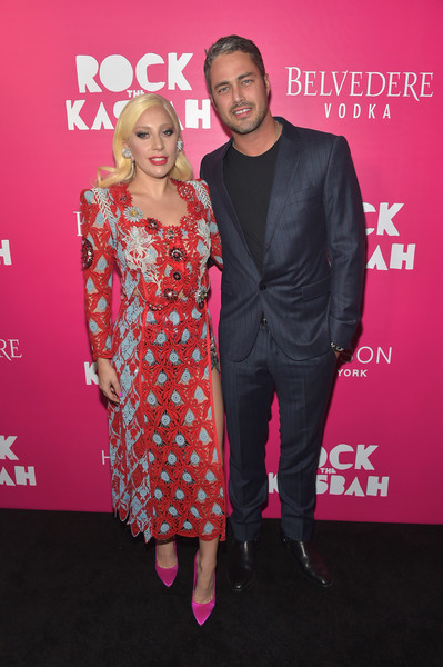 Lady Gaga Skirt Suit [rock the kasbah,pink,clothing,fashion,premiere,event,dress,carpet,magenta,flooring,fashion design,lady gaga,taylor kinney,new york,theater,lincoln square,amc loews,new york premiere]