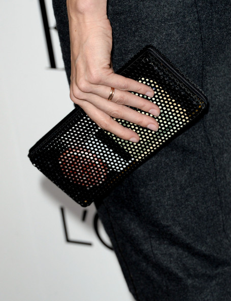 Lake Bell Hard Case Clutch