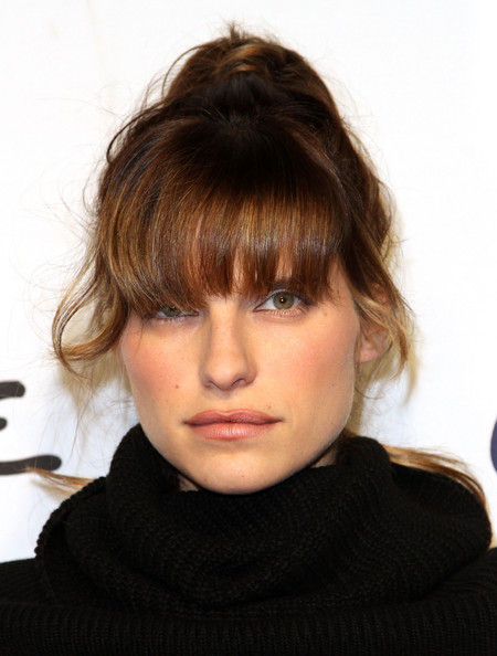 Lake Bell Loose Bun