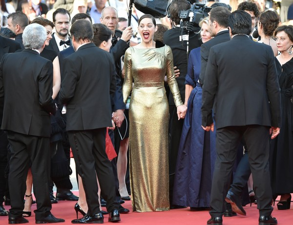 Marion Cotillard at the 2016 Cannes Film Festival