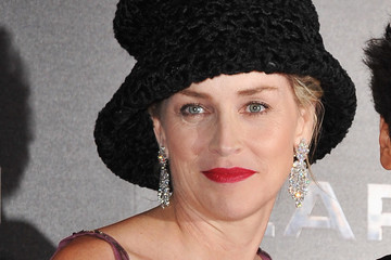 Sharon Stone: Mad Hatted in Paris