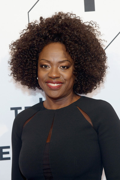 Viola Davis attended the Tribeca Film Festival screening of 'The Last Defense' wearing her hair in a cool afro.