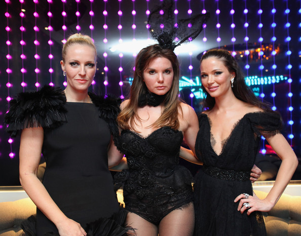 Georgina+Chapman in Launch Of The Marchesa Designed Playboy Bunny Costume Ahead Of The Opening Of The Playboy Club London