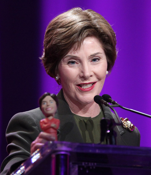 Laura Bush Hair