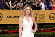 Laura Carmichael Wrap Dress