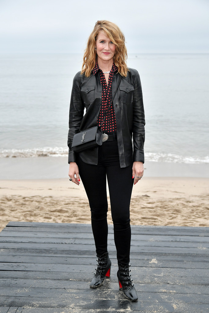 Laura Dern Ankle Boots Newest Looks Stylebistro