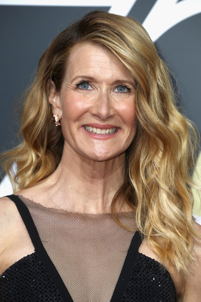 Laura Dern Long Wavy Cut