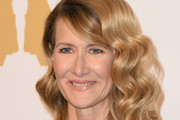 Laura Dern Medium Curls with Bangs