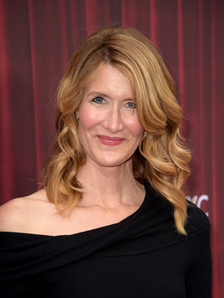 Laura Dern Medium Wavy Cut [twin peaks,hair,face,hairstyle,blond,eyebrow,beauty,layered hair,chin,shoulder,long hair,laura dern,for your consideration,california,los angeles,showtime,red carpet,paramount studios,event,event]