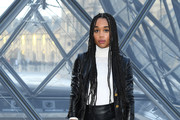 Laura Harrier Leather Purse