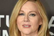 Laura Linney Gold Statement Necklace
