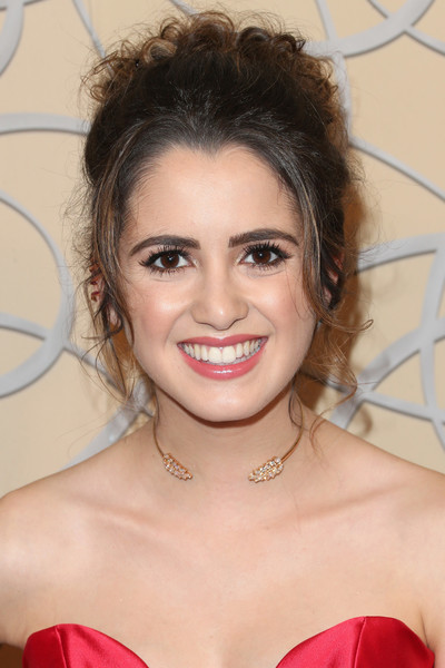 Laura Marano Pinned Up Ringlets