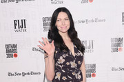 Laura Prepon Quilted Leather Bag