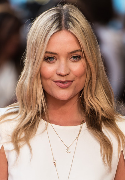 Laura Whitmore Long Wavy Cut [what if,hair,face,blond,hairstyle,eyebrow,long hair,layered hair,lip,beauty,hair coloring,laura whitmore,london,uk,england,odeon west end,premiere]