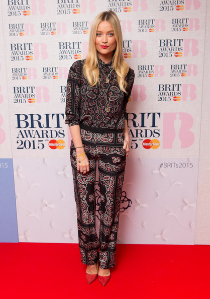 Laura Whitmore Print Blouse