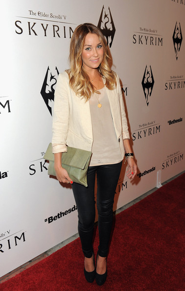 Lauren Conrad Leather Clutch