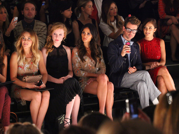 TRESemme At Jenny Packham - Front Row - Spring 2013 Mercedes-Benz Fashion Week