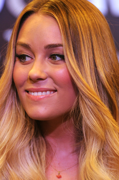 TV Personality Lauren Conrad poses at her book signing for