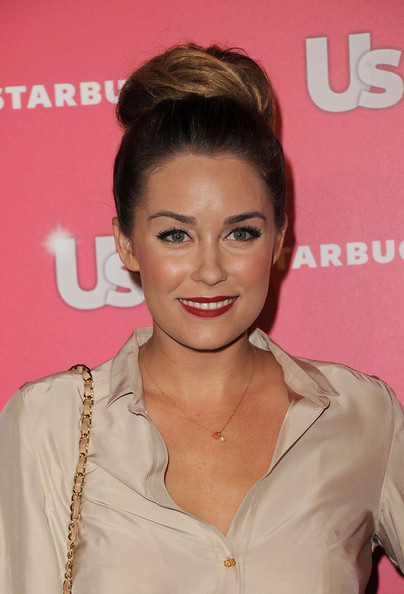 Lauren Conrad Red Lipstick [hair,hairstyle,chin,lip,forehead,blond,brown hair,eyelash,premiere,long hair,arrivals,lauren conrad,hollywood,california,eden,party,us weekly hot hollywood,us weekly hot hollywood event]