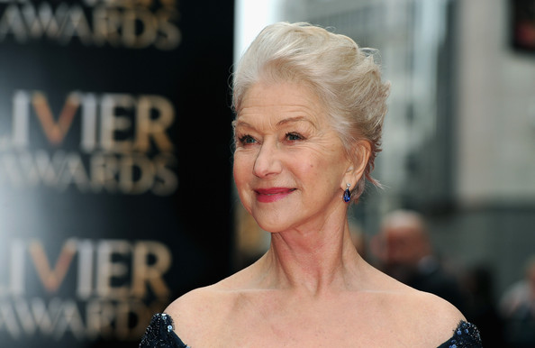 More Pics of Helen Mirren Evening Dress (2 of 6) - Helen Mirren Lookbook - StyleBistro