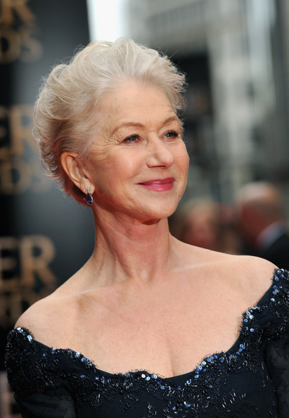 More Pics of Helen Mirren Evening Dress (3 of 6) - Helen Mirren Lookbook - StyleBistro